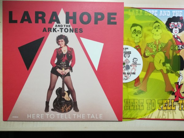 LARA HOPE AND THE ARK-TONES - Here To Tell The Tale LP lime ltd.