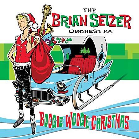 BRIAN SETZER ORCHESTRA - Boogie Woogie Christmas LP