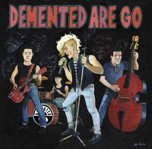 DEMENTED ARE GO - Rubber Rock 7""