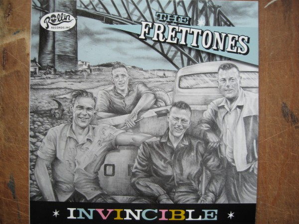"FRETTONES - Invincible 10""LP"