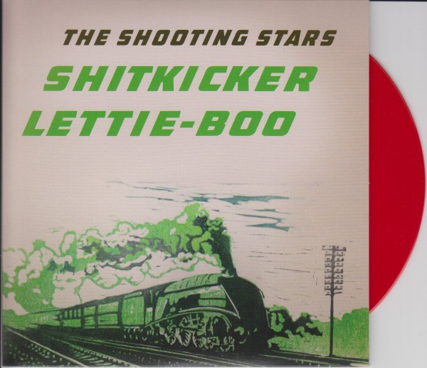 "SHOOTING STARS - Shitkicker 7"" ltd."