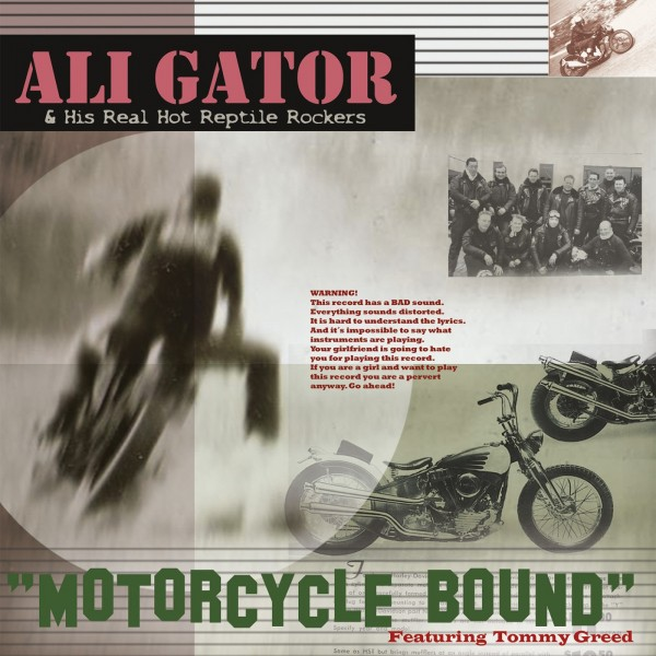 ALI GATOR AND HIS REAL HOT REPTILE ROCKERS - Motorcycle Bound CD