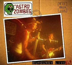 ASTRO ZOMBIES - Burgundy Livers CD