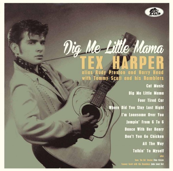 "TEX HARPER - Dig Me Little Mama 10""LP"