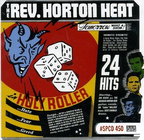 REVEREND HORTON HEAT - Holy Roller CD