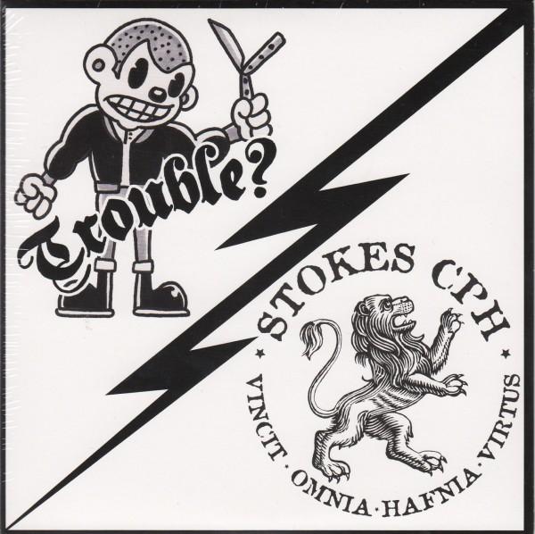 "STOKES CPH / TROUBLE? Split 7""EP"