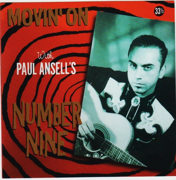 PAUL ANSELL'S NUMBER NINE - Movin' On CD