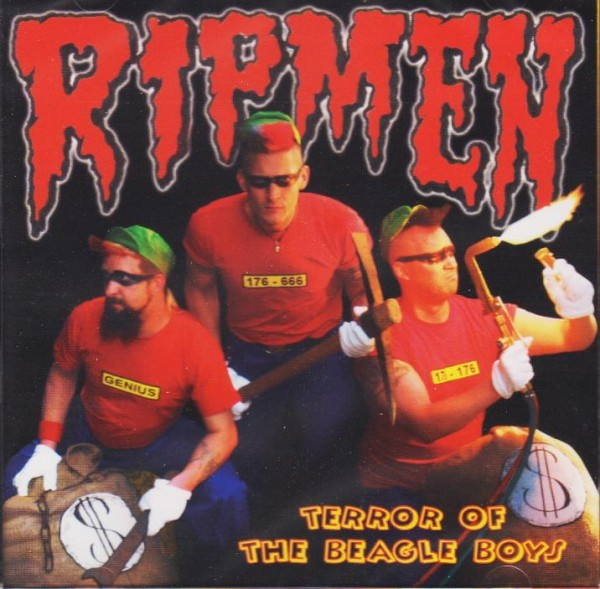 RIPMEN - Terror Of The Beagle Boys CD