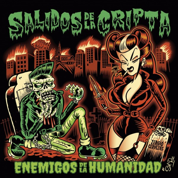 SALIDOS DE LA CRIPTA - Enemigos De La Humanidad LP