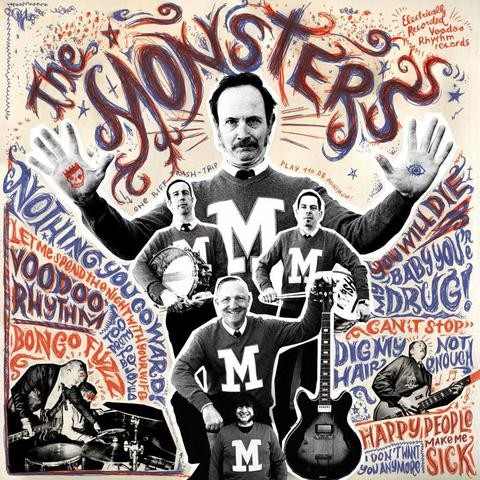 MONSTERS - M LP+CD