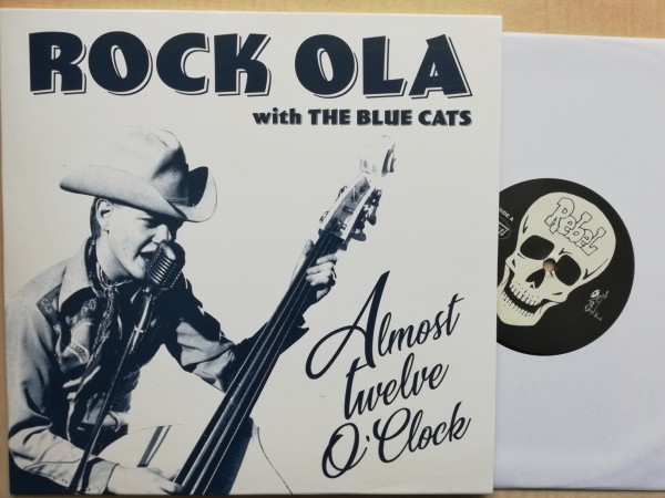 """ROCK OLA with THE BLUE CATS - Almost Twelve O'Clock 10""""LP ltd."""