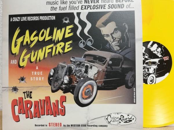 CARAVANS - Gasoline And Gunfire LP ltd. yellow