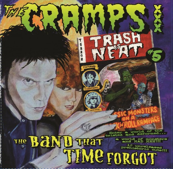 CRAMPS - The Band That Time Forgot LP ltd.