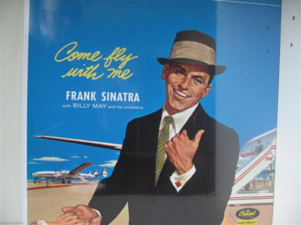SINATRA, FRANK-Come Fly With Me LP
