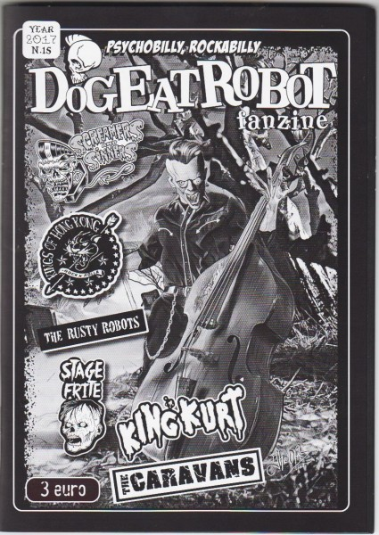 DOG EAT ROBOT Fanzine #15