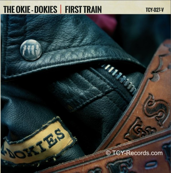 "THE OKIE-DOKIES - First Train Headin South 7"" ltd."