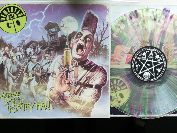 DEMENTED ARE GO - Welcome Back To Insanity Hall LP ltd.