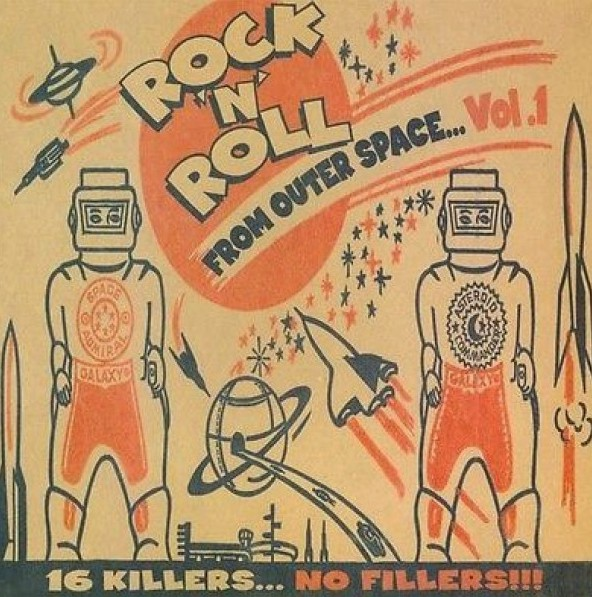 V.A. - Rock'n'Roll From Outer Space Vol.1 LP
