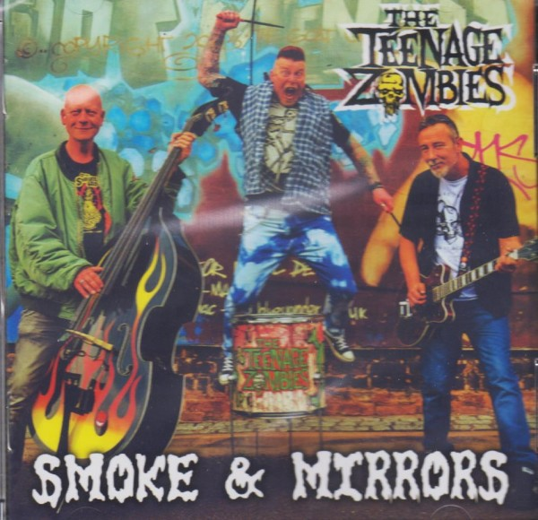 TEENAGE ZOMBIES - Smoke & Mirrors CD