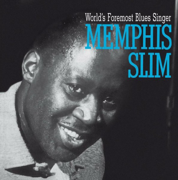 MEMPHIS SLIM - World's Foremost Blues Singer LP