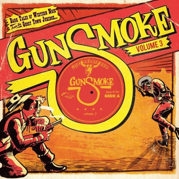 """V.A. - Gunsmoke Vol.3 10""""LP ltd."""