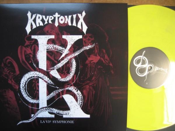 KRYPTONIX - La 6ème Symphonie LP YELLOW ltd.