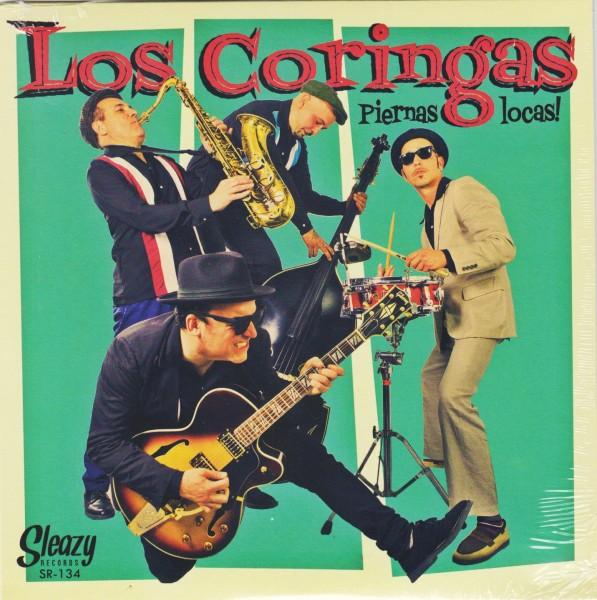 """LOS CORINGAS - Piernas Locas! 7""""EP"""