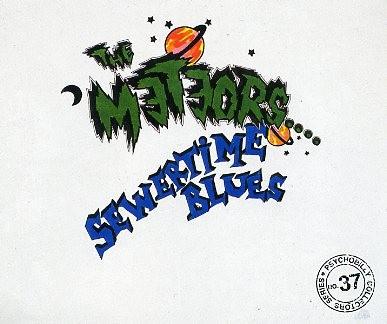 METEORS - Sewertime Blues CD
