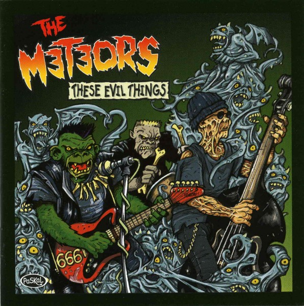 METEORS - These Evil Things CD