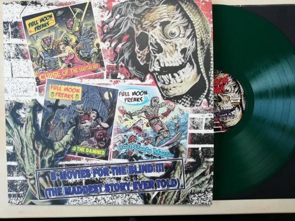 FULL MOON FREAKS - B-Movies For The Blind LP ltd. green