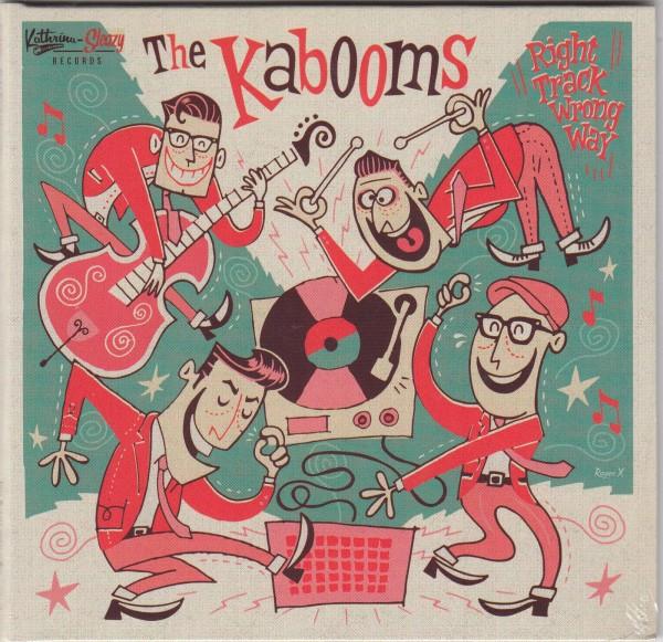 KABOOMS - Right Track Wrong Way CD