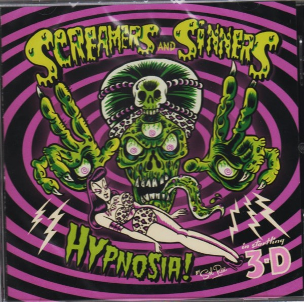SCREAMERS AND SINNERS - Hypnosia! CD