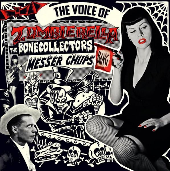 MESSER CHUPS - The Voice Of Zombierella LP