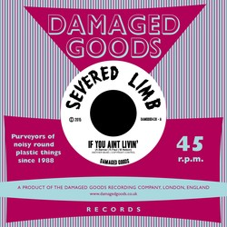 """SEVERED LIMB - If You Ain't Livin' 7"""""""