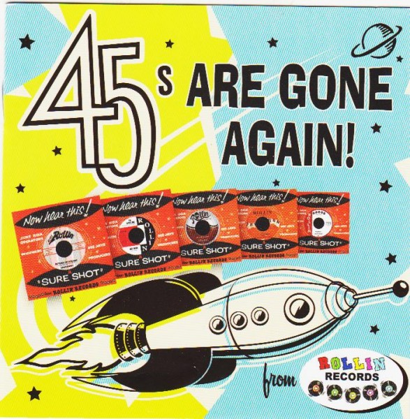 V.A. - 45s Are Gone Again CD