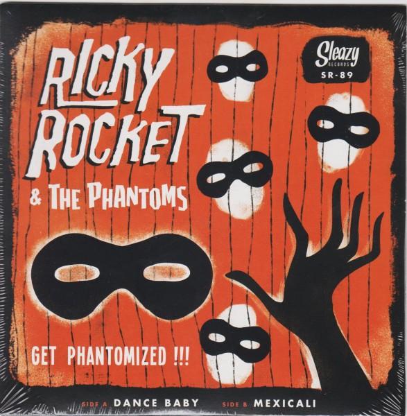 "RICKY ROCKET & THE PHANTOMS - Get Phantomized 7""EP"