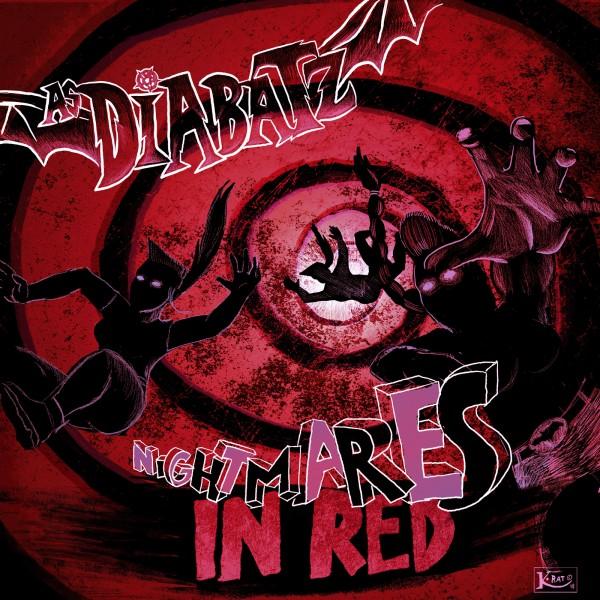 AS DIABATZ - Nightmares In Red LP + CD ltd.