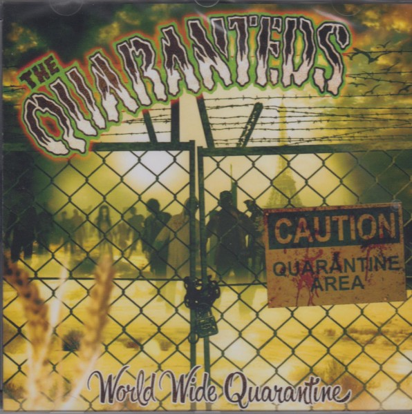 QUARANTEDS - World Wide Quarantine LP