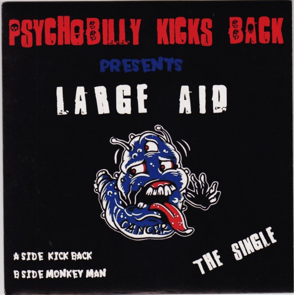 "PSYCHOBILLY KICKS BACK 7"" ltd. black"