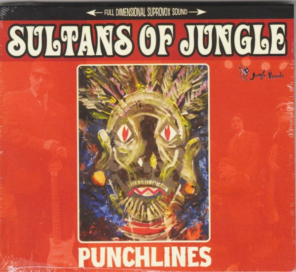 SULTANS OF JUNGLE - Punchlines CD