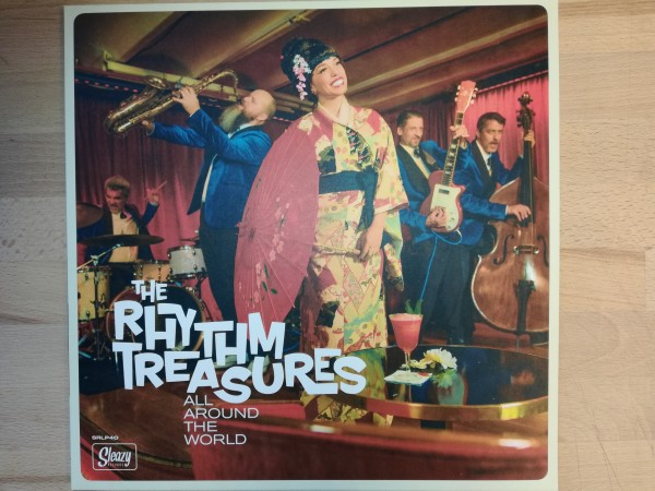 RHYTHM TREASURES - All Around The World LP
