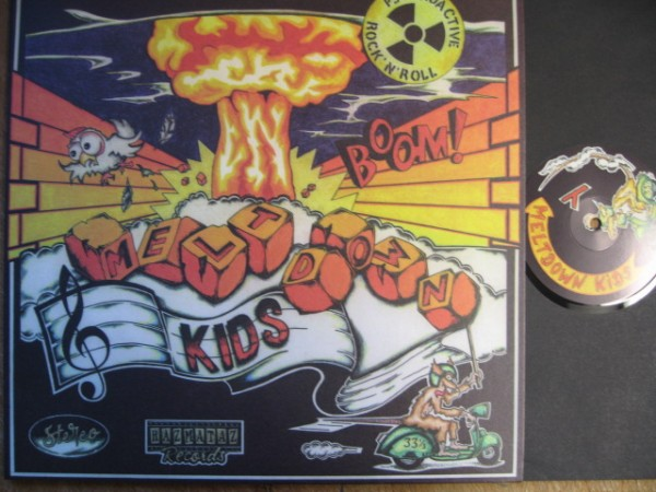 MELTDOWN KIDS - Psychoactive Rock'n'Roll LP