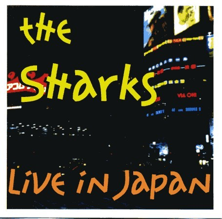 SHARKS - Live In Japan CD