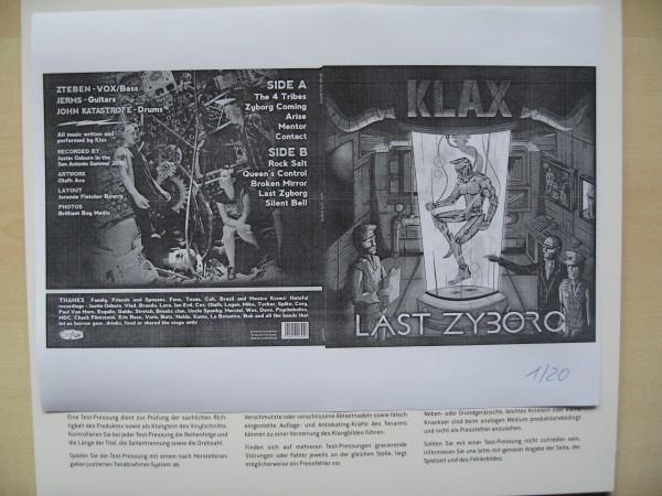 KLAX - Last Zyborg LP test pressing ltd.