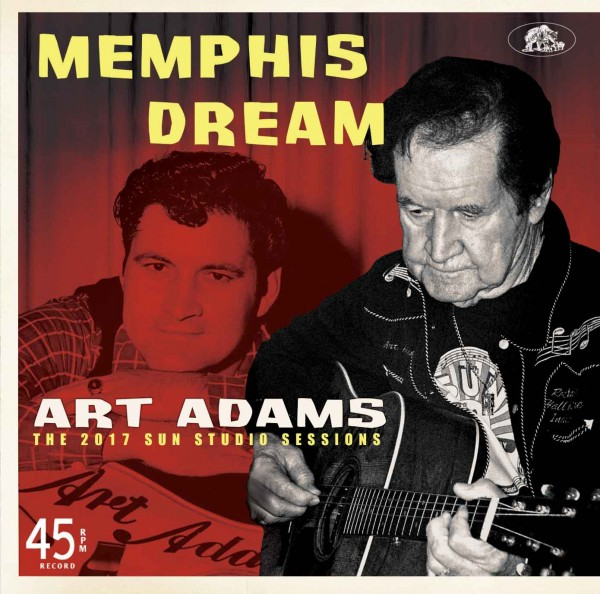 "ART ADAMS - Memphis Dreams 7""EP"
