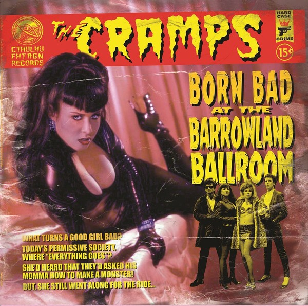 CRAMPS – Born Bad At The Barrowland Ballroom LP