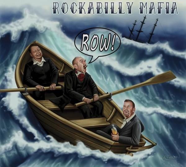 ROCKABILLY MAFIA - Row! LP blue