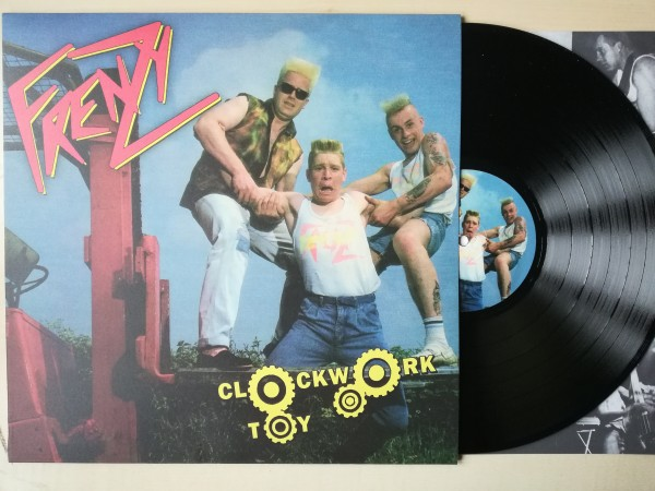 FRENZY - Clockwork Toy LP black ltd.