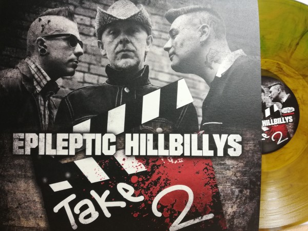 EPILEPTIC HILLBILLYS - Take Two LP yellow ltd.