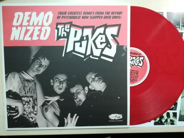 PUKES - Demonized LP ltd. red